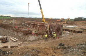 Civil works commence to Balladoole Sewage Treatment Works Isle of Man