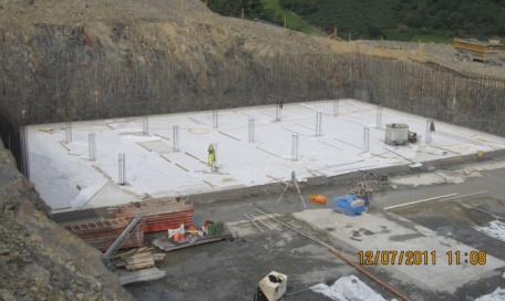 K henry construction for Ramsey swimming pool isle of man